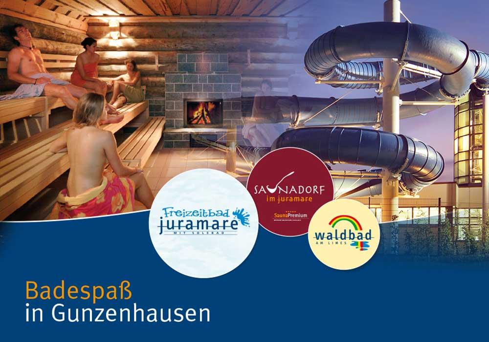 Freizeitbad Juramare Gunzenhausen, Ferienhof Joas in Gerolfingen