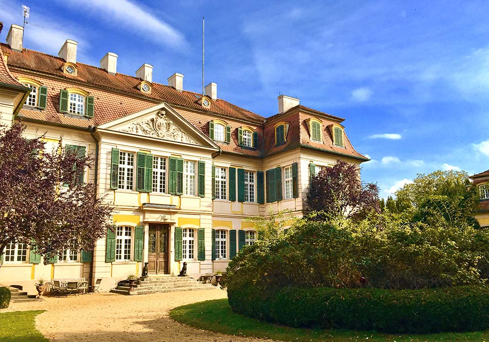 Schlossgarten Dennenlohe, Ferienhof Joas In Gerolfingen