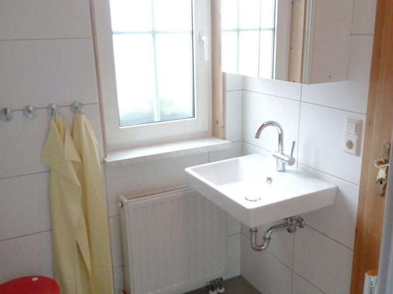 Ferienhaus Drossel, Ferienhof Joas in Gerolfingen, Bad
