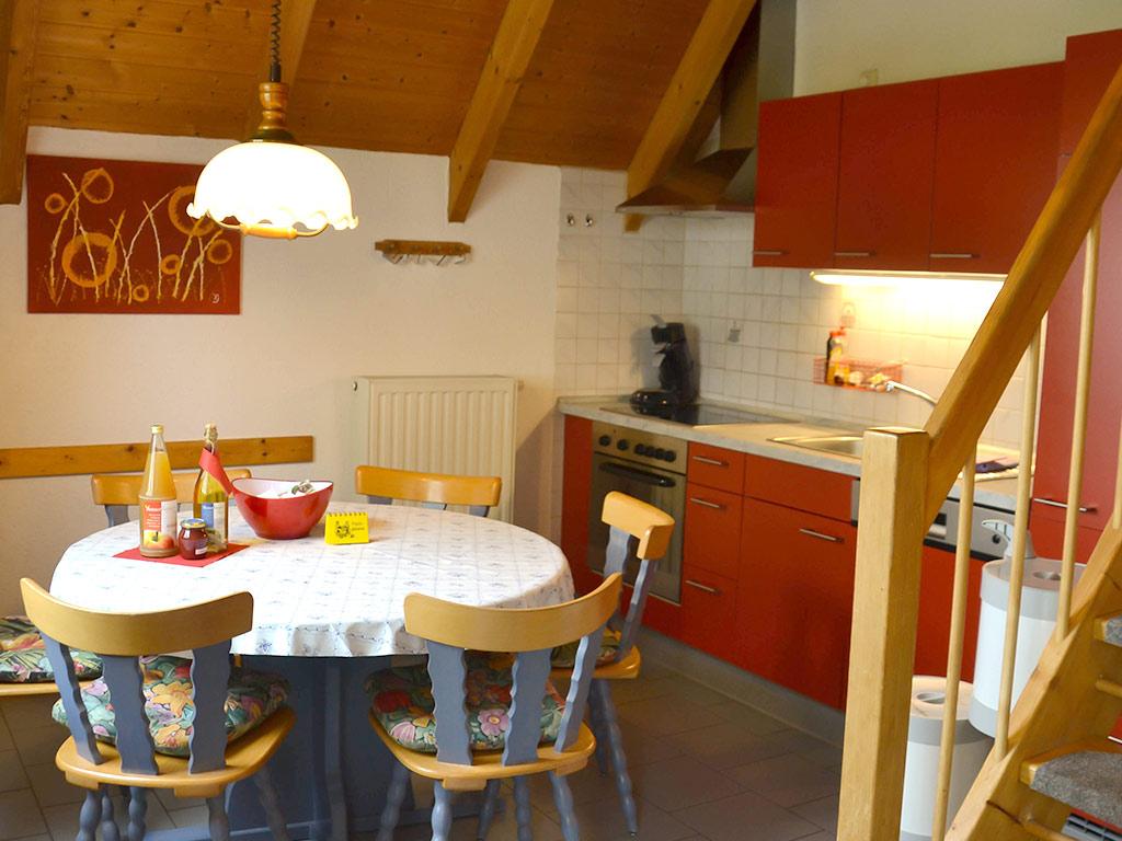 Ferienhaus, Ferienhof Joas, Küche