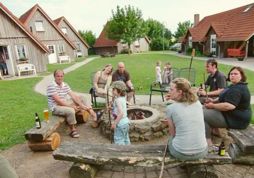 Stockbrot, Ferienhof Joas In Gerolfingen