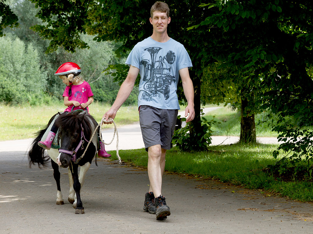 Unsere Tiere, Ferienhof Joas, Pony